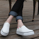 New Women Loafers Casual Shoes Heels Round Toe Black Pink Loafer Shoes Autumn Comfort Women Shoes - Hespirides Gifts - 1