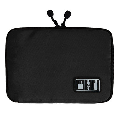 Electronic Accessories Organizers Bag for Hard Drive Organizers for Earphone Cables USB Flash Drives Travel Case Digital Bag - Hespirides Gifts - 4