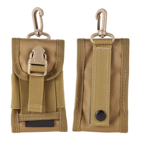 High Density Nylon Outdoor Hiking Camping Money Pocket Tactical Molle Cell Phone Travel Stuff Waist Pouch Bag - Hespirides Gifts - 7
