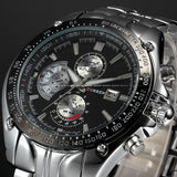 New CURREN Luxury Brand Watches Men Quartz Fashion Casual Male Sports Watch Date Clock Full Steel Military Wristwatches - Hespirides Gifts - 3