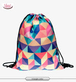 In stock Teenager food escolar daily drawstring backpack 3D printing travel softback man women mochila feminina bag backpacks - Hespirides Gifts - 27