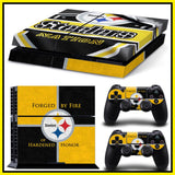 NFL 15 Teams Available Forged By Fire PS4 Skin Sticker Decal Skin Stickers For PS4 Console Stickers PS4 Skin Controller Stickers - Hespirides Gifts - 1