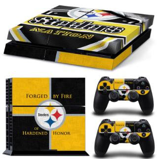 NFL 15 Teams Available Forged By Fire PS4 Skin Sticker Decal Skin Stickers For PS4 Console Stickers PS4 Skin Controller Stickers - Hespirides Gifts - 15