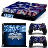 NFL 15 Teams Available Forged By Fire PS4 Skin Sticker Decal Skin Stickers For PS4 Console Stickers PS4 Skin Controller Stickers - Hespirides Gifts - 8
