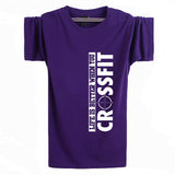 New Camisetas Life Is Better When You Crossfit T Shirts Mens Casual Printing Tops Tees Cotton Sport Short Sleeve T-shirt XS-XXL - Hespirides Gifts - 12