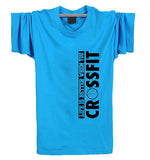 New Camisetas Life Is Better When You Crossfit T Shirts Mens Casual Printing Tops Tees Cotton Sport Short Sleeve T-shirt XS-XXL - Hespirides Gifts - 13