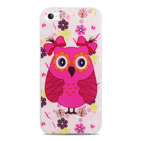 For Capinha Para iPhone 5S Case Cute Owls Cartoon Soft TPU Gel Cover for Case iPhone 5S 4 4S SE/IP 6 6S Plus Cases Capinha 5S - Hespirides Gifts - 12