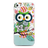 For Capinha Para iPhone 5S Case Cute Owls Cartoon Soft TPU Gel Cover for Case iPhone 5S 4 4S SE/IP 6 6S Plus Cases Capinha 5S - Hespirides Gifts - 2