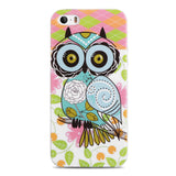 For Capinha Para iPhone 5S Case Cute Owls Cartoon Soft TPU Gel Cover for Case iPhone 5S 4 4S SE/IP 6 6S Plus Cases Capinha 5S - Hespirides Gifts - 4