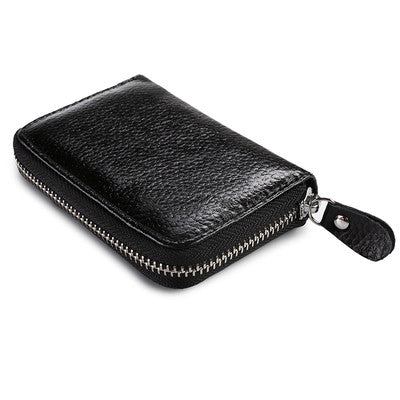 Women zipper credit card holder Patent leather fashion cardholder extendable id holder bags by 8 colors - Hespirides Gifts - 2