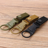 Hot Sale New Outdoor Tactical Nylon Webbing Buckle Hook Water Bottle Holder Clip EDC - Hespirides Gifts - 3