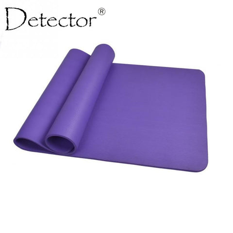 Detector 10mm Thick exercise Yoga Mat Pad Non-Slip Lose Weight Exercise Fitness folding gymnastics mat for fitness - Hespirides Gifts - 1