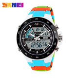 SKMEI Men Sports Watches Fashion Casual Men's Watch Digital Analog Alarm 30 Waterproof Man Military Multifunctional Wristwatches - Hespirides Gifts - 7