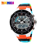 SKMEI Men Sports Watches Fashion Casual Men's Watch Digital Analog Alarm 30 Waterproof Man Military Multifunctional Wristwatches - Hespirides Gifts - 4