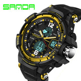 SANDA Fashion Watch Men G Style Waterproof LED Sports Military Watches Shock Men's Analog Quartz Digital Watch relogio masculino - Hespirides Gifts - 2