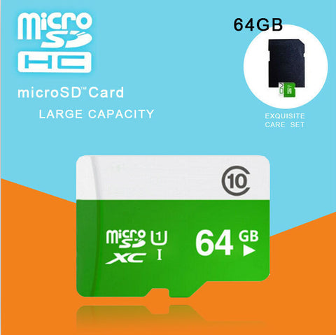 microsd 32gb 64gb Class 10 Micro SD Card TF Memory Card T-Flash mini Transflash 4GB 8GB 16GB cartao de memoria+adapter BT5 - Hespirides Gifts