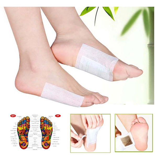 New Coming Multifunctional 40 pcs/set Detox Foot Pads Chinese Medicine Patches With Adhesive Organic Herbal Cleansing Patch C034 - Hespirides Gifts