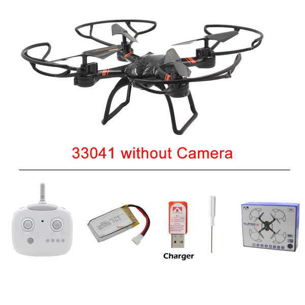 SUPER-S RC Drone 33041C with HD Camera Professional 2.4G Remote Control Quadcopter Toy Helicopter Dron / 33041 without Camera - Hespirides Gifts - 4