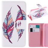 Top Original Wallet Flip PU Leather Case For Samsung galaxy Trend Duos GT - S7562 S7562 Phone Cases Cover With Stand Function - Hespirides Gifts - 7