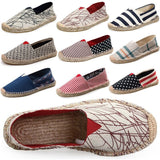 Comfortable Men Women Shoes Unisex Espadrilles Patchwork Suede weave Rope Ballet Flats Fisherman Flats Loafer Zapatos Mujer - Hespirides Gifts - 1