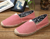 Comfortable Men Women Shoes Unisex Espadrilles Patchwork Suede weave Rope Ballet Flats Fisherman Flats Loafer Zapatos Mujer - Hespirides Gifts - 15