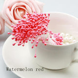 Wholesale Multi Color 3mm (500pcs/lot) Pearl Flower Stamen Floral Stamen For DIY Cake/Wedding Decoration Artificial Flowers - Hespirides Gifts - 5