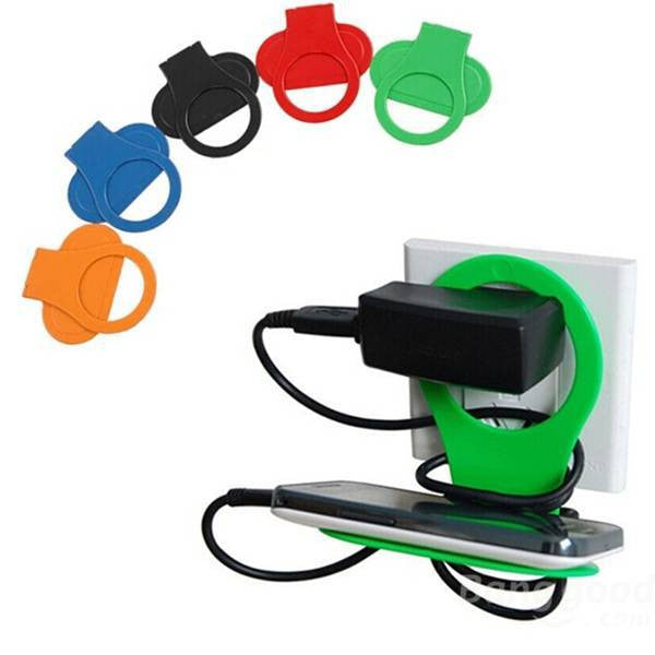 Holder Hangs Charger Charging Rack For Mobile Phone Random color Delivery - Hespirides Gifts