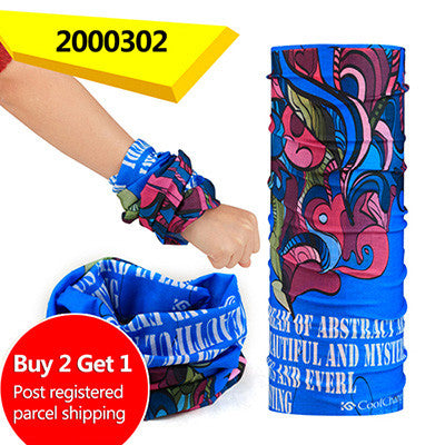 Buy Two Get One CoolChange Bicycle Seamless Bandanas Summer Outdoor Sport bandanas Ride Mask Bike Magic Scarf Cycling Headband - Hespirides Gifts - 9