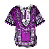 Dashiki New African Clothing Traditional Print Tops Fashion Design African Bazin Riche Clothes Dashiki T-shirt For Men Women - Hespirides Gifts - 4