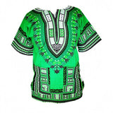 Dashiki New African Clothing Traditional Print Tops Fashion Design African Bazin Riche Clothes Dashiki T-shirt For Men Women - Hespirides Gifts - 5