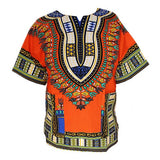 Dashiki New African Clothing Traditional Print Tops Fashion Design African Bazin Riche Clothes Dashiki T-shirt For Men Women - Hespirides Gifts - 7