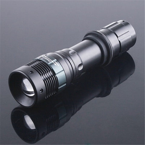 Cost Price Flash Light CREE Q5 800LM LED Flashlight Zoom Portable Light Torch Hunting Spotlight Lantern,Use AAA Or 18560 - Hespirides Gifts