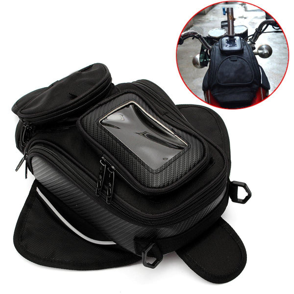 High Quality General Bag Package Motorcycle Fuel Tank Magnetic Oil Fuel Tank Black - Hespirides Gifts