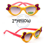 Fashion princess bowknot heart sunglasses Glasses Eyeglasses eyeware anti UV 400 for kids girls child Wholesale - Hespirides Gifts - 6