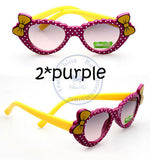 Fashion princess bowknot heart sunglasses Glasses Eyeglasses eyeware anti UV 400 for kids girls child Wholesale - Hespirides Gifts - 4