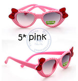 Fashion princess bowknot heart sunglasses Glasses Eyeglasses eyeware anti UV 400 for kids girls child Wholesale - Hespirides Gifts - 2