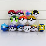 Pokemon Ball Figures ABS 13style Anime Action Figures Pokemon PokeBall Ash Toys Pokemon Ball Toys Pokeball Doll 7cm - Hespirides Gifts - 1