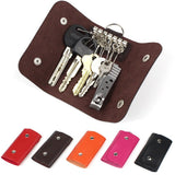 Women Men Hot Sale Quality Fashion Solid Key Organizer Key Wallets Bag Car Keychain Housekeeper Key Holders W015 - Hespirides Gifts - 1