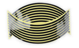 "Update! 16'17'18"" Motorcycle Styling Wheel Hub Rim Stripe Reflective Decal Stickers For YAMAHA HONDA SUZUKI - Hespirides Gifts - 8"