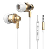 Original Langsdom M300 Metal Super Bass In-ear Earphones Volume Control with Mic Headsets for iphone Sony Xiaomi Mp3 PC 3.5mm - Hespirides Gifts - 3