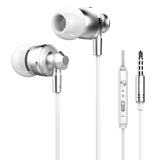 Original Langsdom M300 Metal Super Bass In-ear Earphones Volume Control with Mic Headsets for iphone Sony Xiaomi Mp3 PC 3.5mm - Hespirides Gifts - 5
