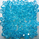Light Colors 100pcs 4mm Bicone Austria Crystal Beads charm Glass Beads Loose Spacer Bead for DIY Jewelry Making - Hespirides Gifts - 15