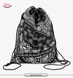 In stock Teenager food escolar daily drawstring backpack 3D printing travel softback man women mochila feminina bag backpacks - Hespirides Gifts - 25