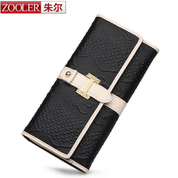 ZOOLER brand superior leather wallets women leather handbags lady wallet stylish dayclutch long purse wallet,famous brand - Hespirides Gifts