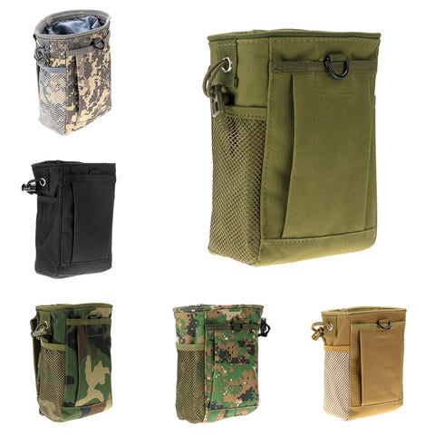Military Molle Belt Tactical Magazine Dump Drop Reloader Pouch Bag Utility Hunting Magazine Pouch - Hespirides Gifts - 1
