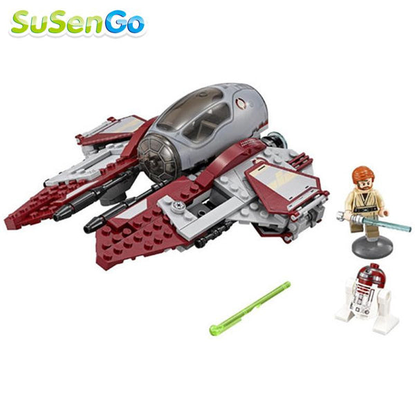 Star Wars Obi-Wans Jedi Interceptor Building Block sets Force Awakens Minifigures Kid Baby Toy Gift Poe Dameron Lego Compatible - Hespirides Gifts