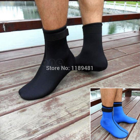 Neoprene 3mm Water Sports Swimming Scuba Diving Surfing Socks Snorkeling Boots - Hespirides Gifts - 1