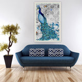 Hot Sale 32x45cm DIY 5D Diamond Embroidery Peacock Painting Cross Stitch Embroidery Craft Kit for Home Decor V1NF - Hespirides Gifts - 3