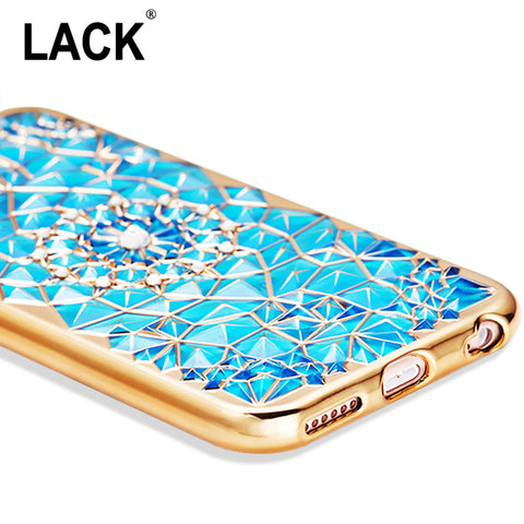 "Luxury Bling Diamond Case For iphone 6 Case For iphone 6S 6 Plus i6 4.7/5.5"" Soft Silicone Thin Cover Electroplating Phone Cases - Hespirides Gifts - 1"