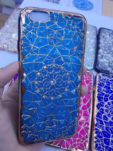 "Luxury Bling Diamond Case For iphone 6 Case For iphone 6S 6 Plus i6 4.7/5.5"" Soft Silicone Thin Cover Electroplating Phone Cases - Hespirides Gifts - 3"